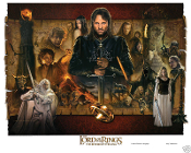 by Jerry VanderStelt Rivendell Canvas The Lord of the Rings 14.75 X 24 inch