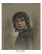 Frodo Baggins Antique Art Print - The Lord of the Rings