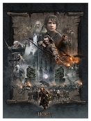 The Hobbit: The Battle of the Five Armies PAPER GICLEE