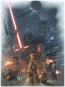 star Wars - The Force Awakens painting / celebration Europe