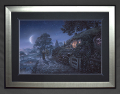 Bag End:Expect me when you see me! - FRAMED
