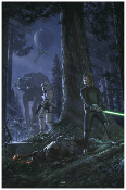 "Star Wars Celebration 2019 Chicago  ""The Call of Destiny"" print"