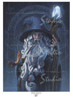 Gandalf the Grey Mini Epic Giclee